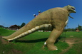 遠賀郡の公園にてT-Rex