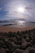 若松岩屋海岸にて-05