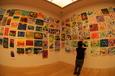 小学生作品展示室にて(北九州市立美術館)