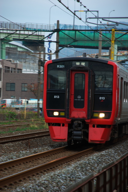 JR西日本鹿児島本線(小倉北区日明付近)